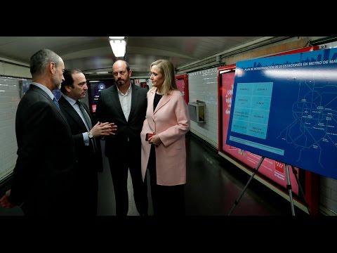 Plan De Modernización De Estaciones Del Metro De Madrid