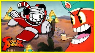 Cuphead GENIE BOSS LEVEL Ep. 3 Let's Play with Combo Panda