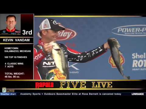 Ross Barnett weather delay leaderboard breakdown