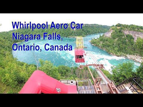 Whirlpool Aero Car, Niagara Falls, Ontario, Canada. 4K 60fps