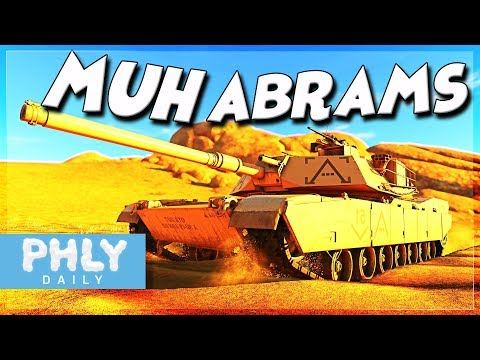 BeSt TaNk In ThE gAmE   MUHH ABRAMS (War Thunder M1 Abrams Gameplay)