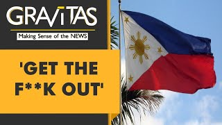 Gravitas: Filipino diplomat swears at China
