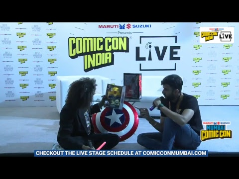 Live from Mumbai Comic Con 2017!
