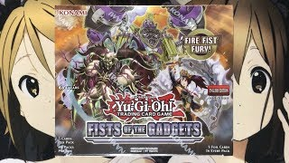 Opening My Fist Of The Gadgets Yugioh Booster Box TCG
