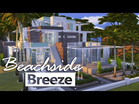 The Sims 4 | House Building - Beachside Breeze