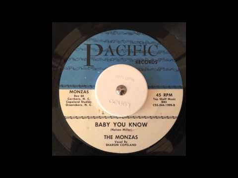 The Monzas - Baby You Know - Pacific