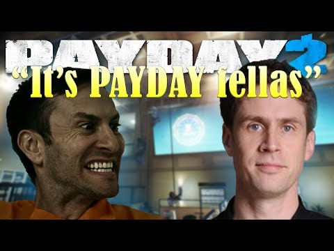 A chat with HOXTON from Payday 2 (Pete Gold)