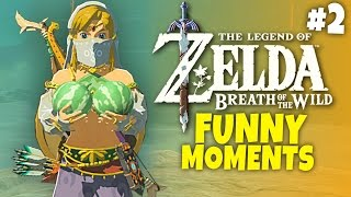 Repeat youtube video Zelda: Breath of the Wild - Funny Moments #2 - Schwoman
