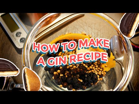 How to Make and Distil Your Own Gin Recipe | The Shakespeare Distillery