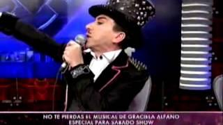 Showmatch 2011 - Un fan de Alfano llora desde la tribuna