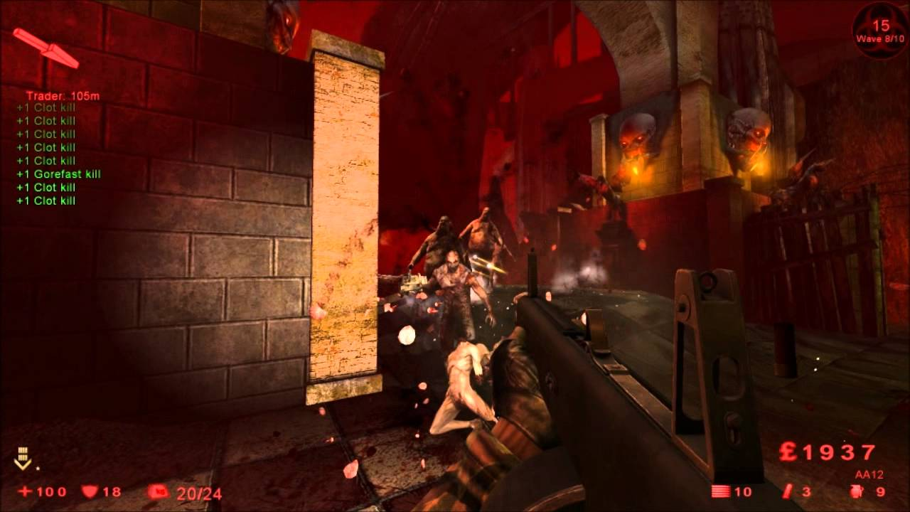 Killing Floor 2014 Solo Hell On Earth   Hell (map)   Berserk And Support    YouTube