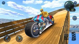 Moto spider vertical ramp jump bike racing game #motor Cycle Game #bike Games 3d #games For Android
