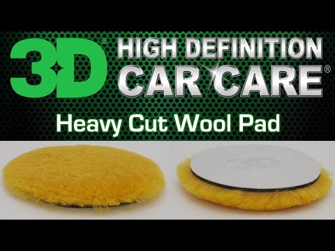 Yellow Heavy Cut Wool Pad