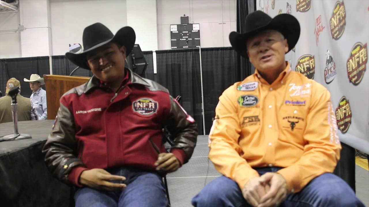 Aaron Tsinigine And Clay O Brien Cooper Round 6 Winners