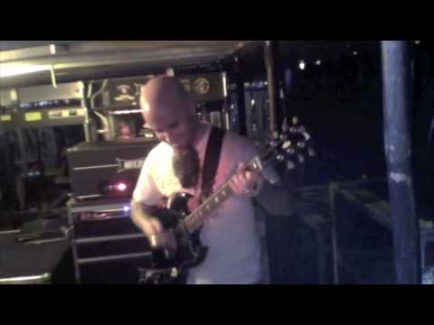 Playing Angus Young's guitar in Sydney AU.