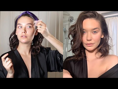 Skincare Routine for Glowing Skin + Natural Fresh Makeup | Amanda Steele thumbnail