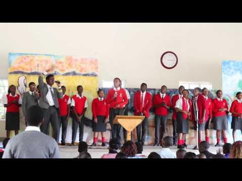 Nyeri Baptist ministering in mount Kenya Academy