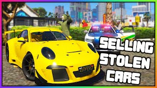 GTA 5 Roleplay - SELLING STOLEN CARS THEN CALLING COPS | RedlineRP