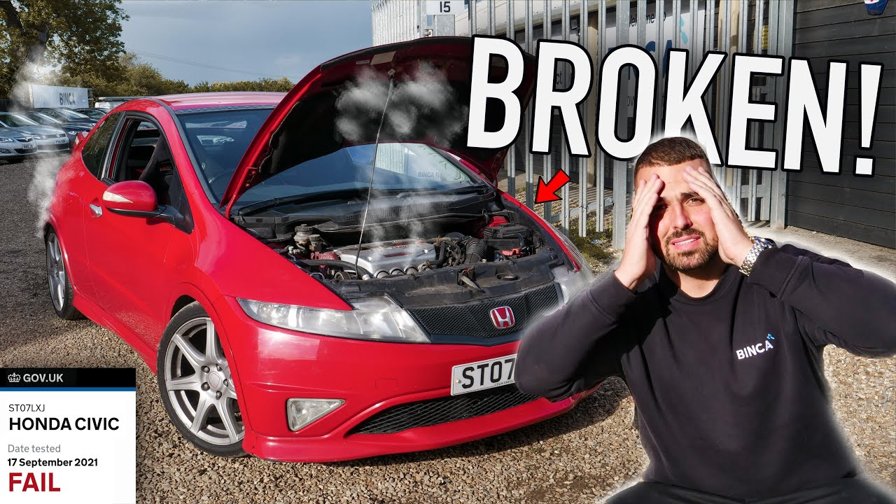 I BOUGHT A BROKEN CIVIC TYPE R!