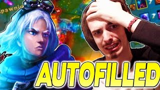 AUTOFILLED AD CARRY - Foxdrop Best Moments - League of Legends