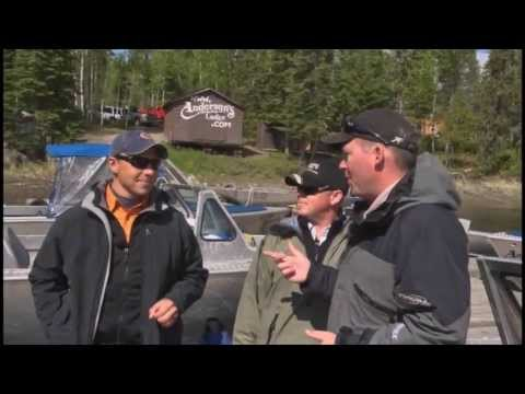 Anderson's Lodge plays host to Mark Melnyk host of Reel Fishy Jobs!