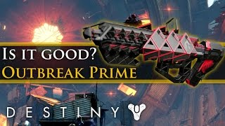 Destiny - Outbreak Prime Exotic Raid Pulse Rifle! How good is it? PvE and PvP!