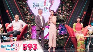 Bạn Muốn Hẹn Hò|Tập 593: Đại gia bất động sản không thích gái xấu làm Quyền Linh và đàng gái cạn lời