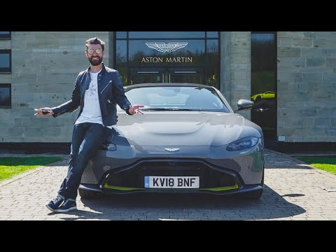 Taking Delivery Of The NEW Aston Martin Vantage 2018!