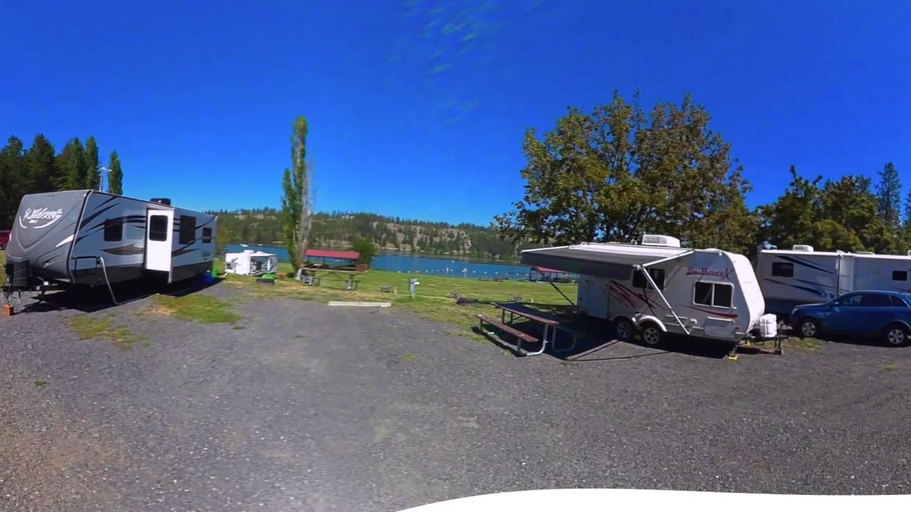 Riverside State Park Nine Mile Recreation Area Campground Washington