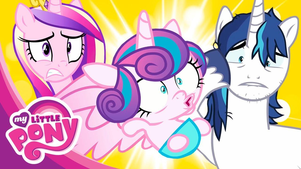 Мультфильм Дружба - это чудо. Май Литл Пони 6 сезон. Секрет Пинки Пай и Кристаллинг - 2 части!