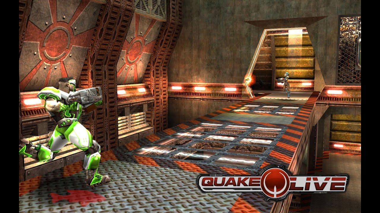 Quake Live Gameplay