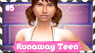 The Sims 4 | Runaway Teen Challenge | Part 5 — Go Home.