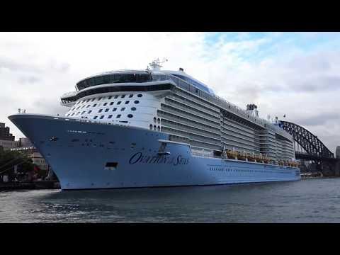OVATION OF THE SEAS  IN PORT OF SYDNEY -  AUSTRALIA