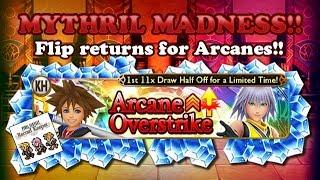 FFRK - Mythril Madness 230 - Kingdom Hearts Crossover Event Draw with Flipbook Joe