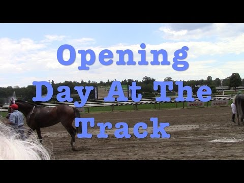 Opening Day For Saratoga Race Track