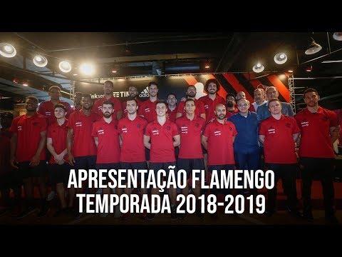 Flamengo apresenta elenco Temporada 2018-19