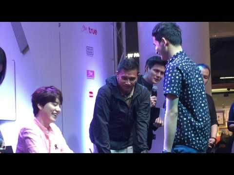 [2017-03-18] Kyuhyun Solo Concert in BKK Press Conference - Fan Sign