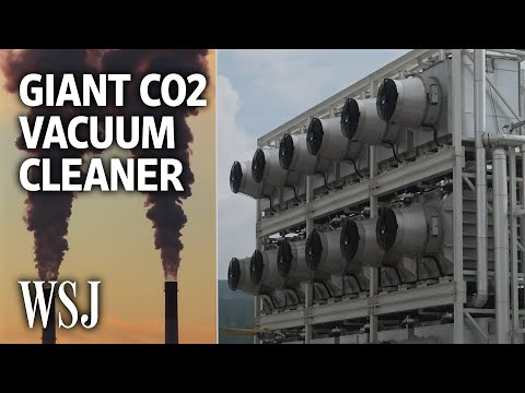 Coca-Cola's and Microsoft's Latest Gamble: A Giant CO2 Vacuum Cleaner   WSJ