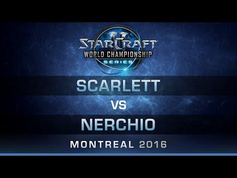 SC2 - Scarlett vs Nerchio [ZvZ] - RO32 - Bo5 - DreamHack Zowie Open Montreal 2016