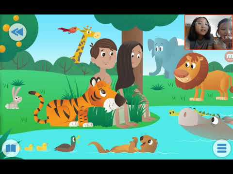 <Kids>Grace:Wonderful Bible Story<성경이야기>– In the Beginning about Creation of the world with Love