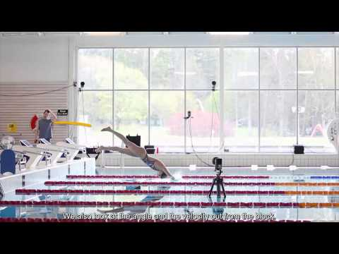 Swimming: A study of biomechanics using underwater motion ca