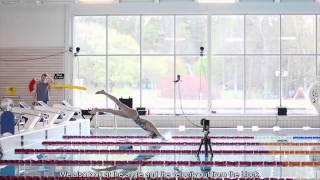 Swimming: A study of biomechanics using underwater motion capture