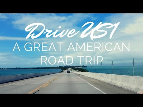USA East Coast Road Trip - Maine to Florida Keys & Key West - 4,700 Miles of US1