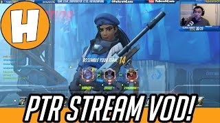 Overwatch PTR Stream VOD  - Sombra, 3v3, 1v1 Fun!