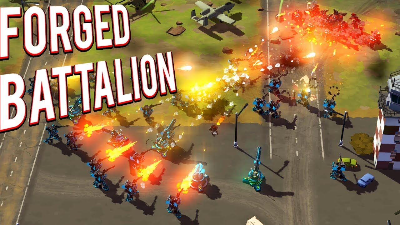 Download CUSTOMIZABLE UNITS! CREATE YOUR OWN FACTION! LIKE COMMAND AND CONQUER FORGED BATTALION GAMEPLAY