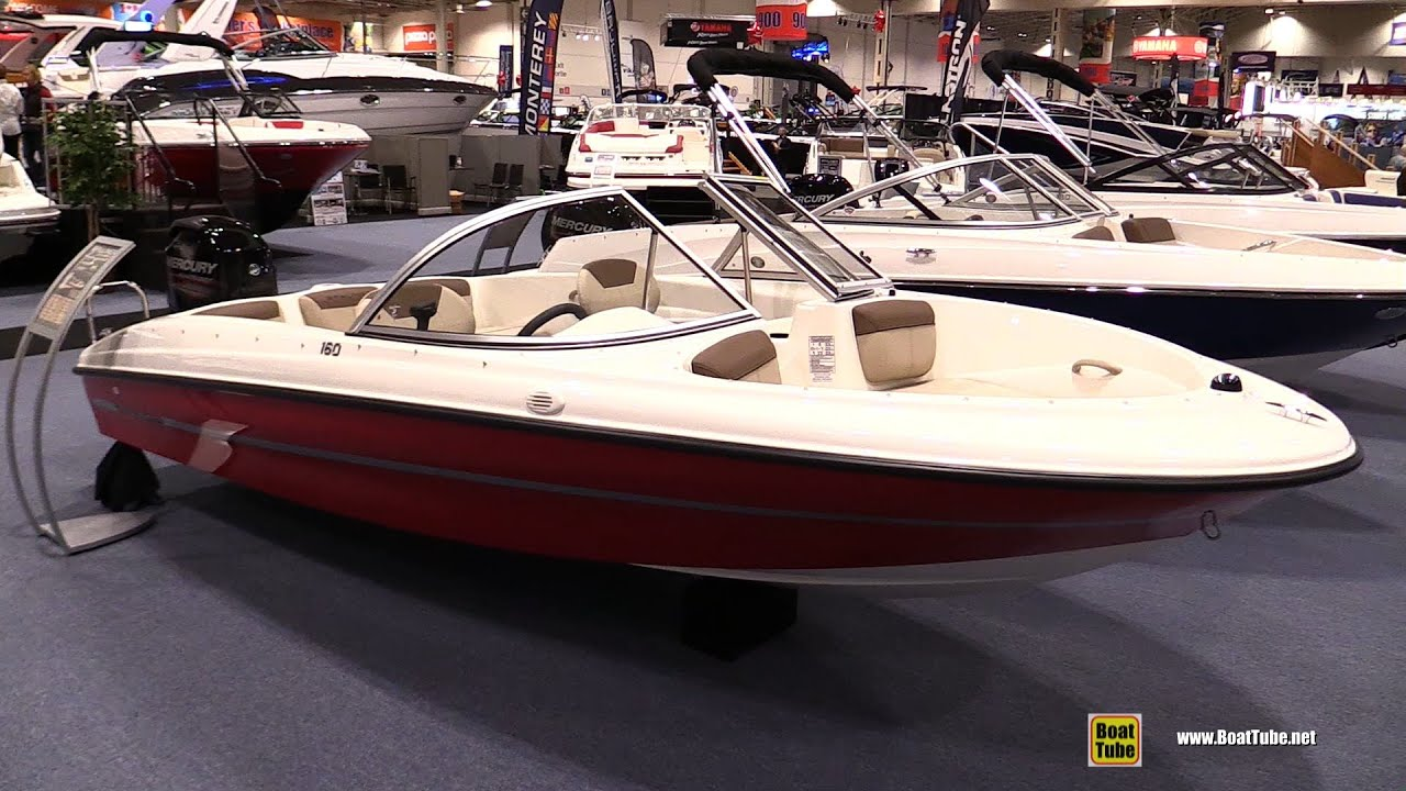 2016 bayliner 160 bowrider motor boat walkaround 2016 for Bowrider boats with outboard motors
