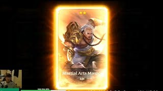 New Hero Martial Arts Master Heroes Charge