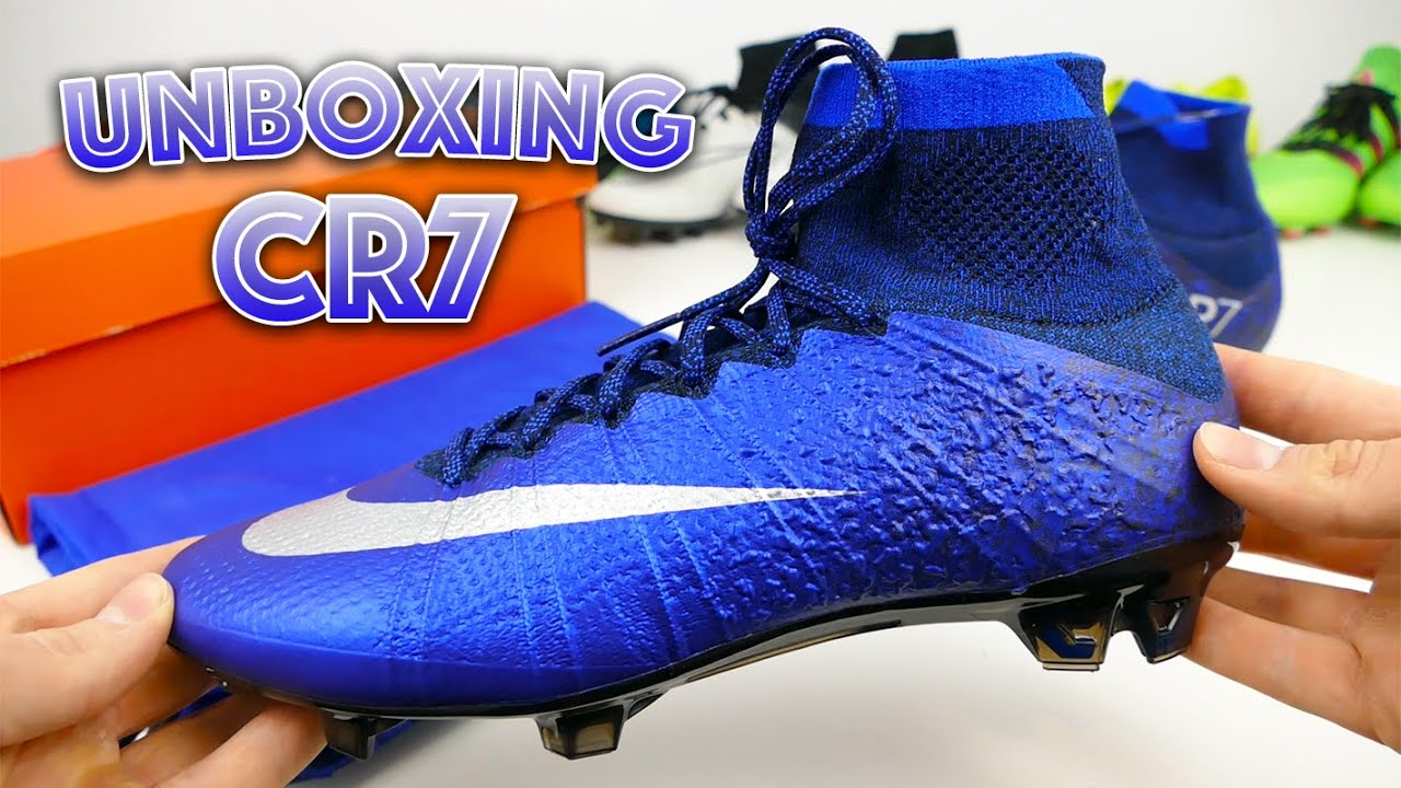 bd9f4ef8489f ... Unboxing Nike Mercurial Superfly CR7 Natural Diamond - YouTu ...
