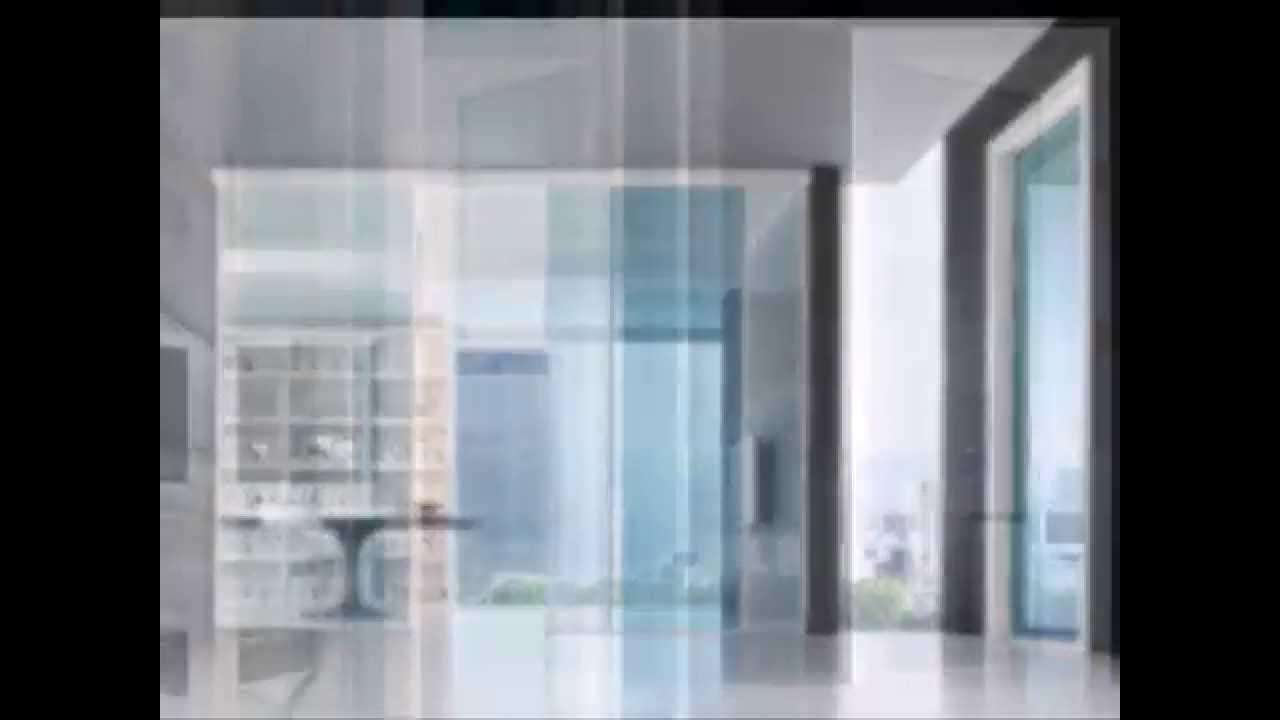 Collezione Stikla Porte In Vetro Battente Scorrevole - YouTube