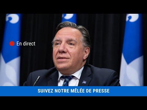 Mêlée de presse du premier ministre